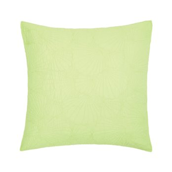 Scallop Shell Green Euro Sham