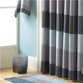 Fairfax Shower Curtain Slate 72X72