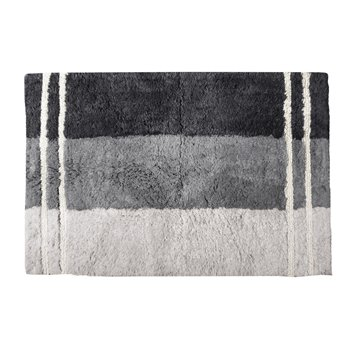 Fairfax Bath Rug Black 20X30