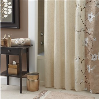 Magnolia Shower Curtain Bronze 70X72