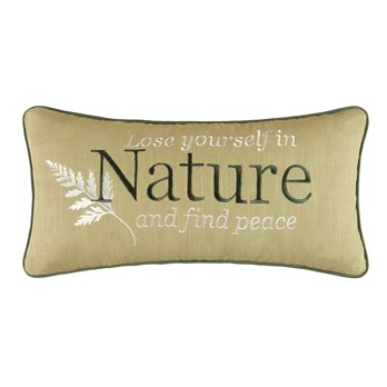 Althea Nature Embroidered Pillow