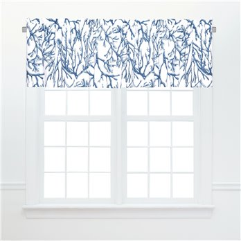 Oceanaire Unlined Valance