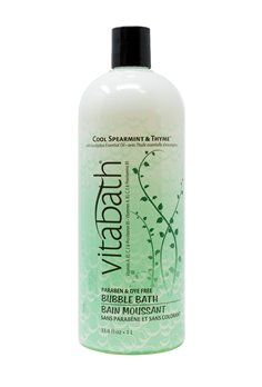 Vitabath  Cool Spearmint and Thyme Bubble Bath (33.8 fl oz)