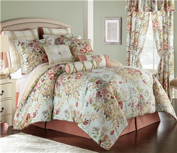 Lorraine 4 Piece King Comforter Set