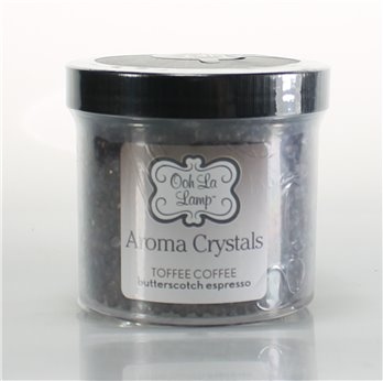 La Tee Da Ooh La Lamp Aroma Crystals Fragrance Toffee Coffee