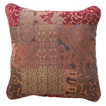 Galleria Red Square Pillow 18x18