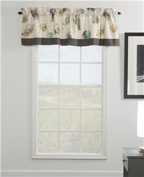 Seaside Treasures Caribbean Tailored Valance