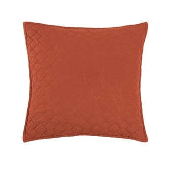 Regent Paprika Quilted Pillow