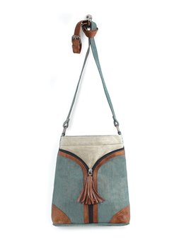 Mona B. Cross City Crossbody - Ocean