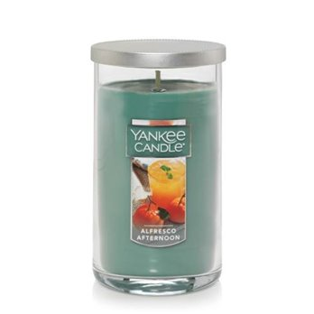 Yankee Candle Alfresco Afternoon Medium Perfect Pillar Candle