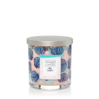 Yankee Candle Pink Sands Regular Tumbler Candle- Seashell