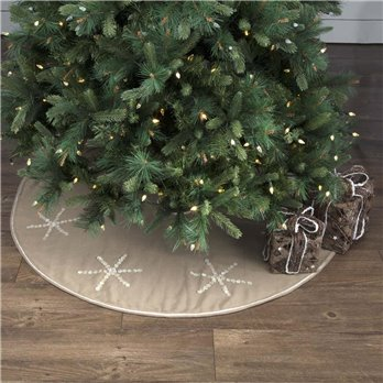 Pearlescent Tree Skirt 48