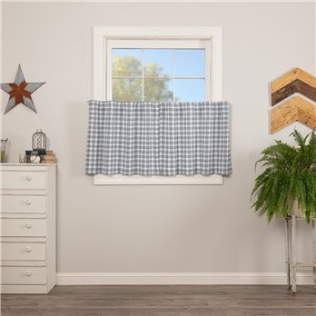 Sawyer Mill Blue Plaid Tier Set of 2 L24xW36