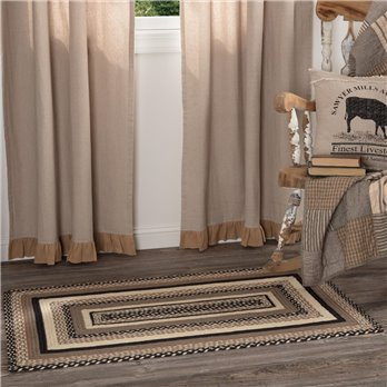 Sawyer Mill Charcoal Jute Rug Rect 27x48
