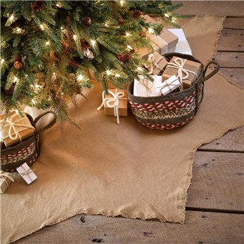 Burlap Natural Tree Skirt 48