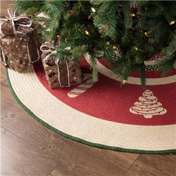 Christmas Cookies Tree Skirt 60