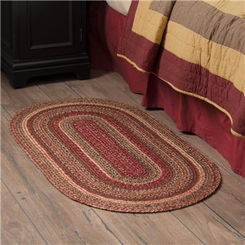 Cider Mill Jute Rug Oval 27x48