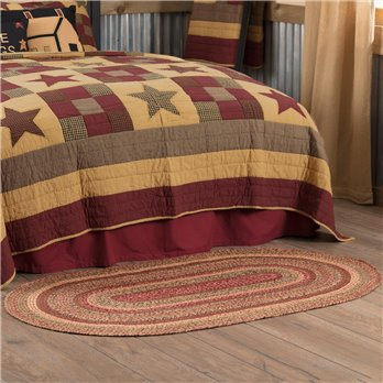 Cider Mill Jute Rug Oval 36x60