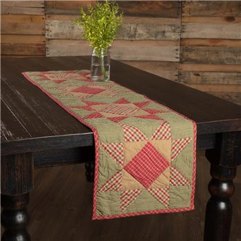 Dolly Star Quilted Runner 13x48