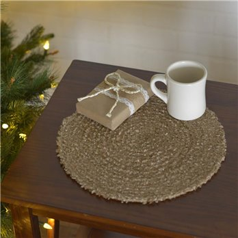"Dyani Champagne 13"" Tablemat Set of 6"