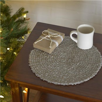 "Dyani Silver 13"" Tablemat Set of 6"
