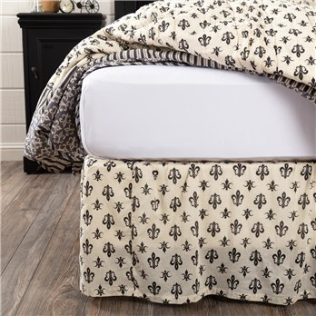 Elysee King Bed Skirt 78x80x16