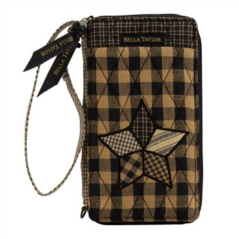 Farmhouse Star Modern Wristlet Wallet