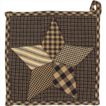 Farmhouse Star Pot Holder 8x8