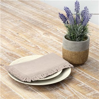 Haven Taupe Napkin Set of 6 18x18