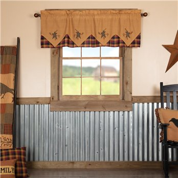 Heritage Farms Primitive Star and Pip Valance Layered 20x60