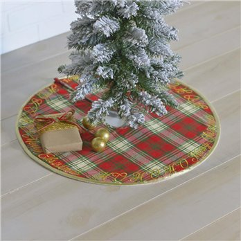 HO HO Holiday Mini Tree Skirt 21
