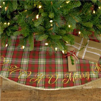 HO HO Holiday Tree Skirt 55