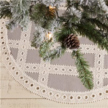 Margot Grey Mini Tree Skirt 21