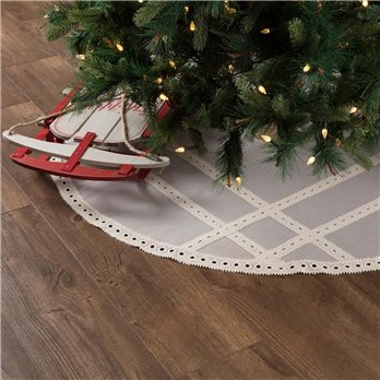 Margot Grey Tree Skirt 48