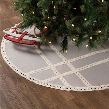 Margot Grey Tree Skirt 55