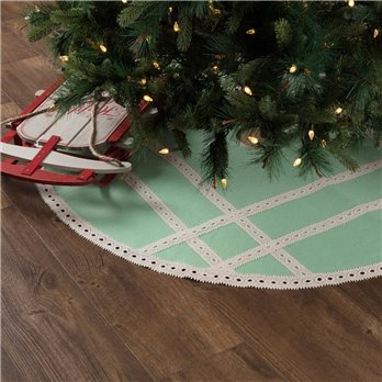 Margot Mint Tree Skirt 48