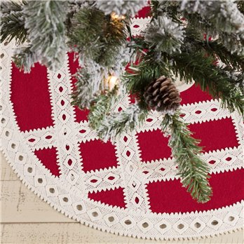 Margot Red Mini Tree Skirt 21