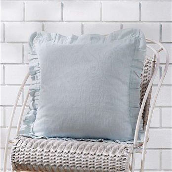 Morgan Ruffle Pillow Cover 18x18