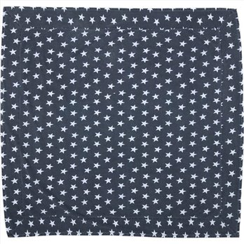 Multi Star Navy Table Cloth 60x60