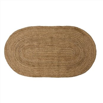 Natural Jute Rug Oval 27x48