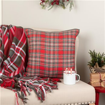 Anderson Plaid Pillow 18x18