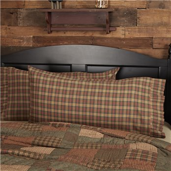 Crosswoods King Pillow Case Set of 2 21x40