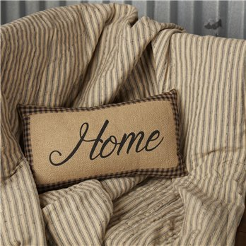 Farmhouse Star Home Pillow 7x13