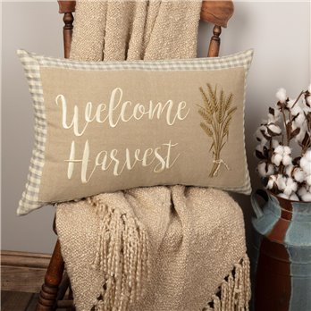Grace Welcome Harvest Pillow 14x22