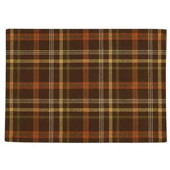 Bountiful Plaid Woven Placemat