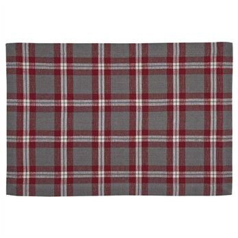 Farmhouse Holiday Plaid Placemat