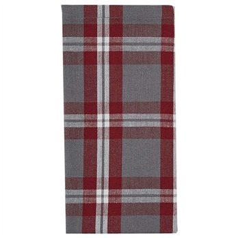 Farmhouse Holiday Plaid Napkin