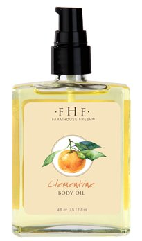 Farmhouse Fresh Clementine Body Oil (4 oz)