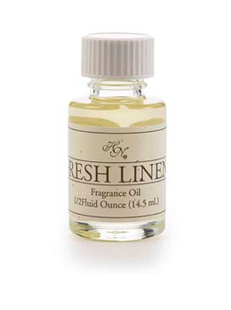 Fresh Linen Refresher Oil 1/2 oz by Hillhouse Naturals