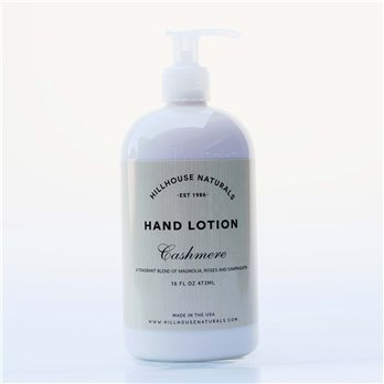 Cashmere Hand Lotion 8.25 oz by Hillhouse Naturals